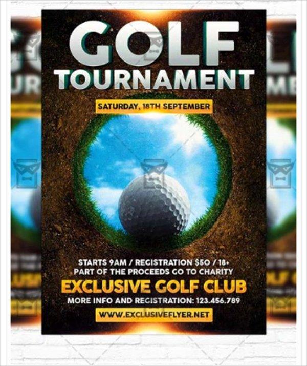 Free Golf tournament Flyer Template Beautiful 28 Golf Flyers Templates Word Psd Ai Eps Vector