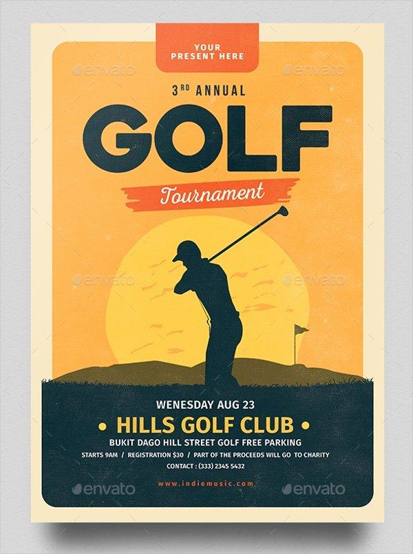 Free Golf tournament Flyer Template Best Of 28 Golf Flyers Templates Word Psd Ai Eps Vector