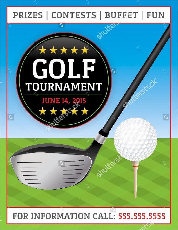 Free Golf tournament Flyer Template Best Of Golf tournament Flyer Template 24 Download In Vector