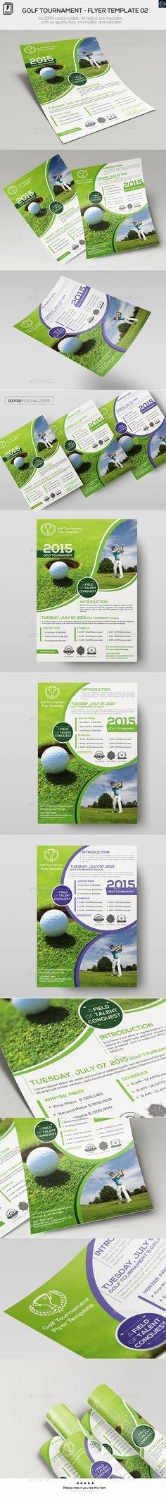 Free Golf tournament Flyer Template Elegant Golf tournament Flyer Template No Model Required