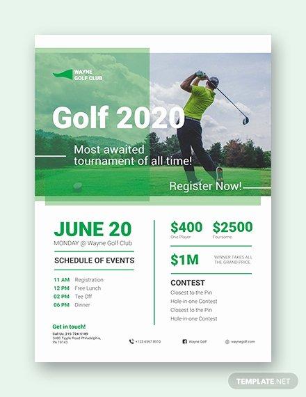 Free Golf tournament Flyer Template Luxury 28 Golf Flyers Templates Word Psd Ai Eps Vector