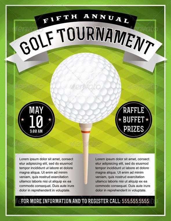 Free Golf tournament Flyer Template Luxury Ideas for Golf Scramble Poster Tinkytyler Stock
