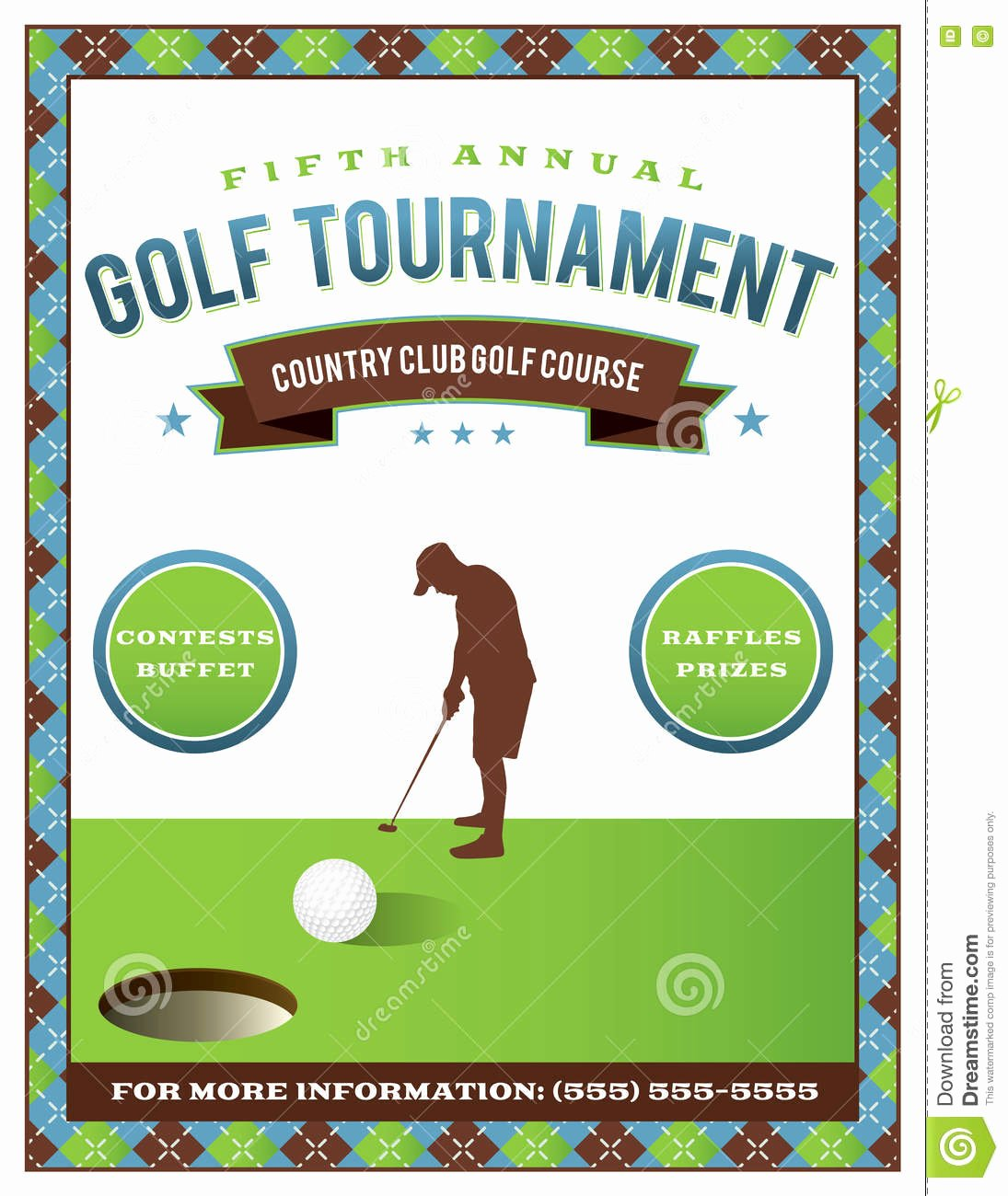 Free Golf tournament Flyer Template New Free Golf tournament Flyer Template