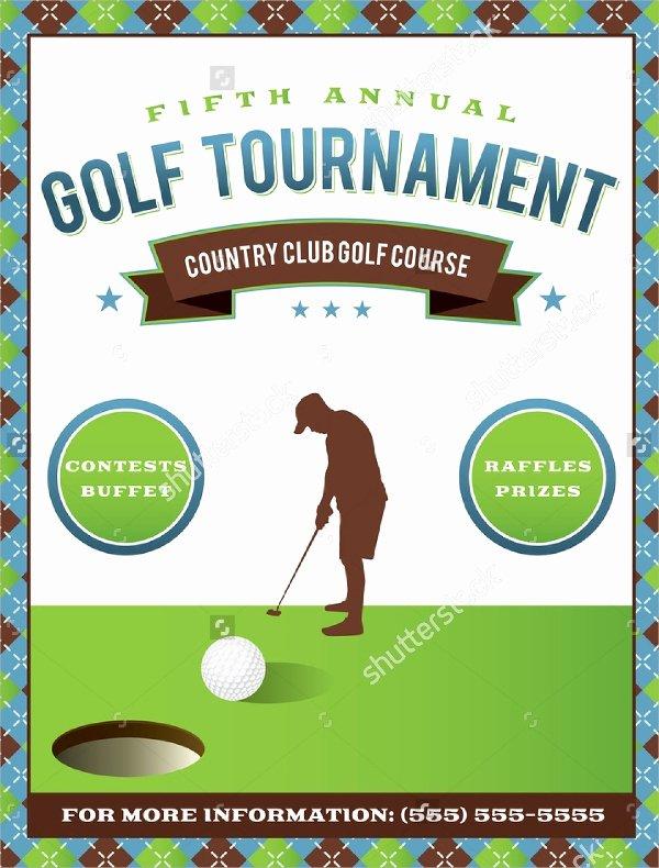 Free Golf tournament Flyer Template New Golf tournament Flyer Template 24 Download In Vector
