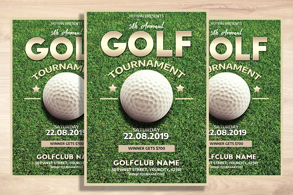 Free Golf tournament Flyers Templates Awesome Golf tournament Flyer Template Flyer Templates