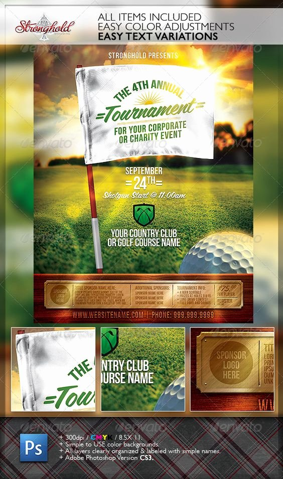 Free Golf tournament Flyers Templates Best Of Flyer Template Flyers and Sports On Pinterest