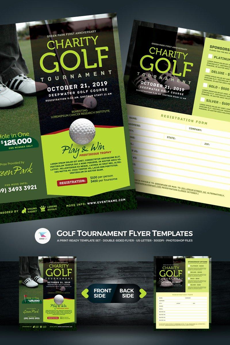 Free Golf tournament Flyers Templates Elegant Golf tournament Flyer Psd Template