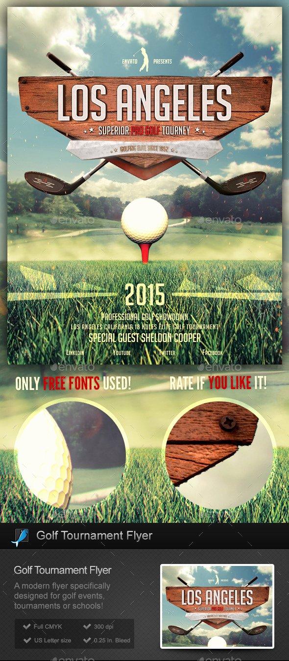 Free Golf tournament Flyers Templates Elegant Golf tournament School Flyer Template by Stormdesigns