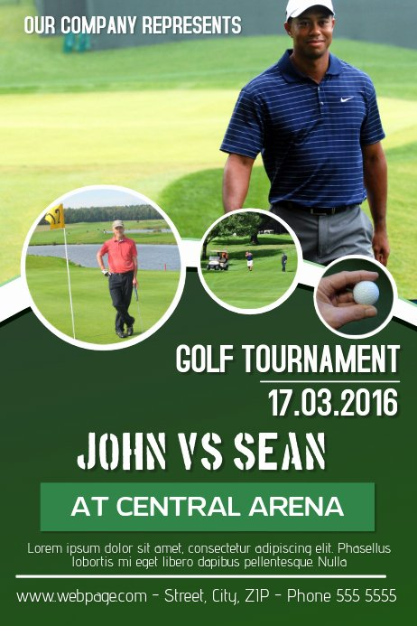 Free Golf tournament Flyers Templates Fresh Copy Of Golf tournament Flyer Template