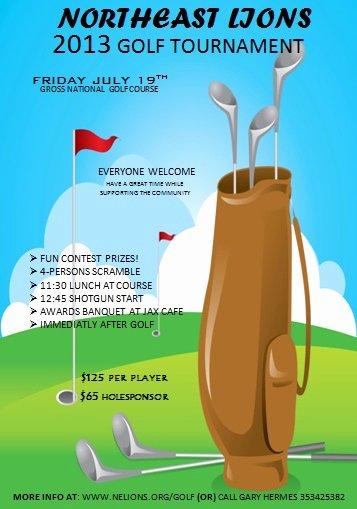 Free Golf tournament Flyers Templates Inspirational Free Golf tournament Flyer Template