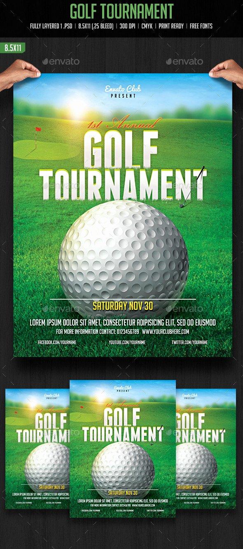 Free Golf tournament Flyers Templates Inspirational Golf tournament Flyer by Creativeartx