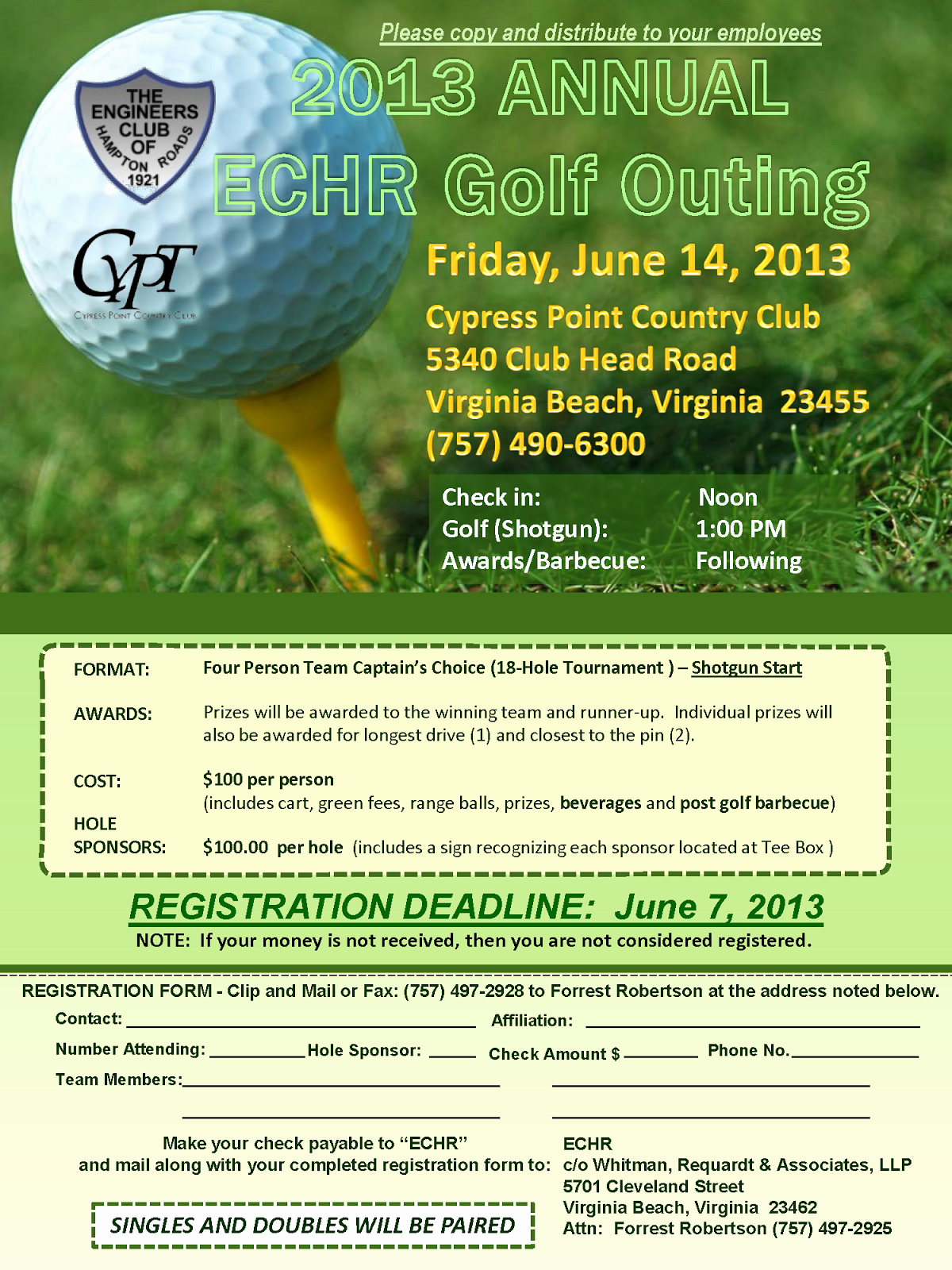 Free Golf tournament Flyers Templates Lovely Golf Outing Flyer Template