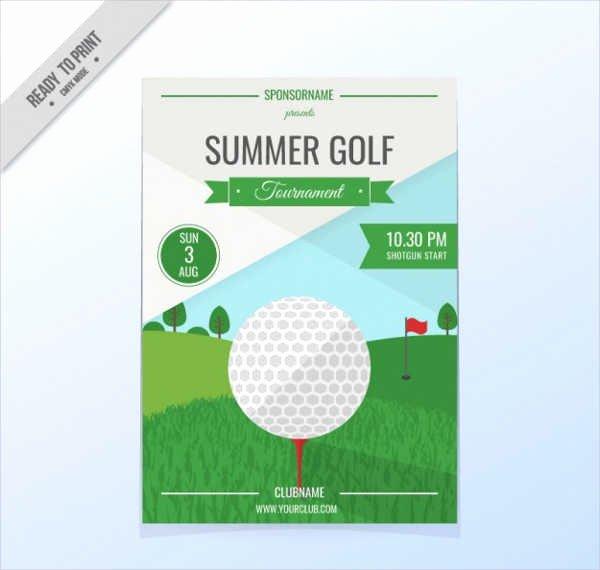 Free Golf tournament Flyers Templates Luxury 47 Sample Invitation Flyers Psd Eps Ai
