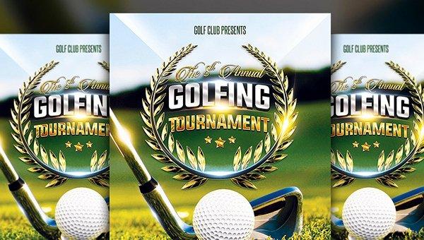 Free Golf tournament Flyers Templates Unique 23 Golf Flyer Templates Free & Premium Psd Vector Png
