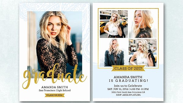 Free Graduation Announcement Template Awesome 23 Graduation Announcement Card Templates Free