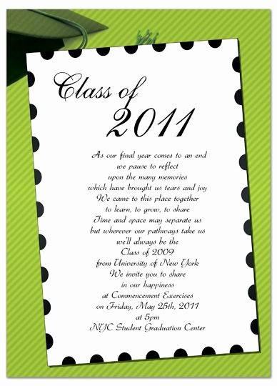 Free Graduation Announcement Template Best Of Free Invitation Templates for Word