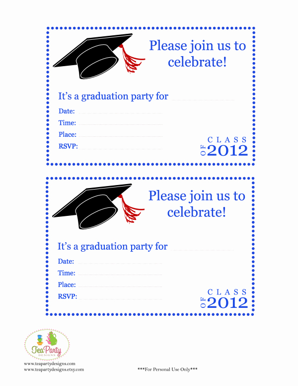 Free Graduation Announcement Template Lovely Free Print Graduation Announcements Template Invitation