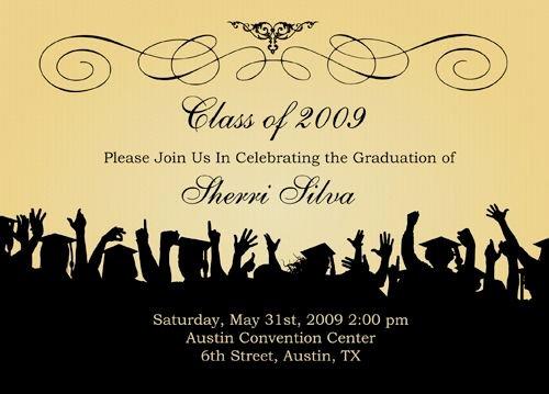 Free Graduation Announcement Template Luxury Free Graduation Templates S