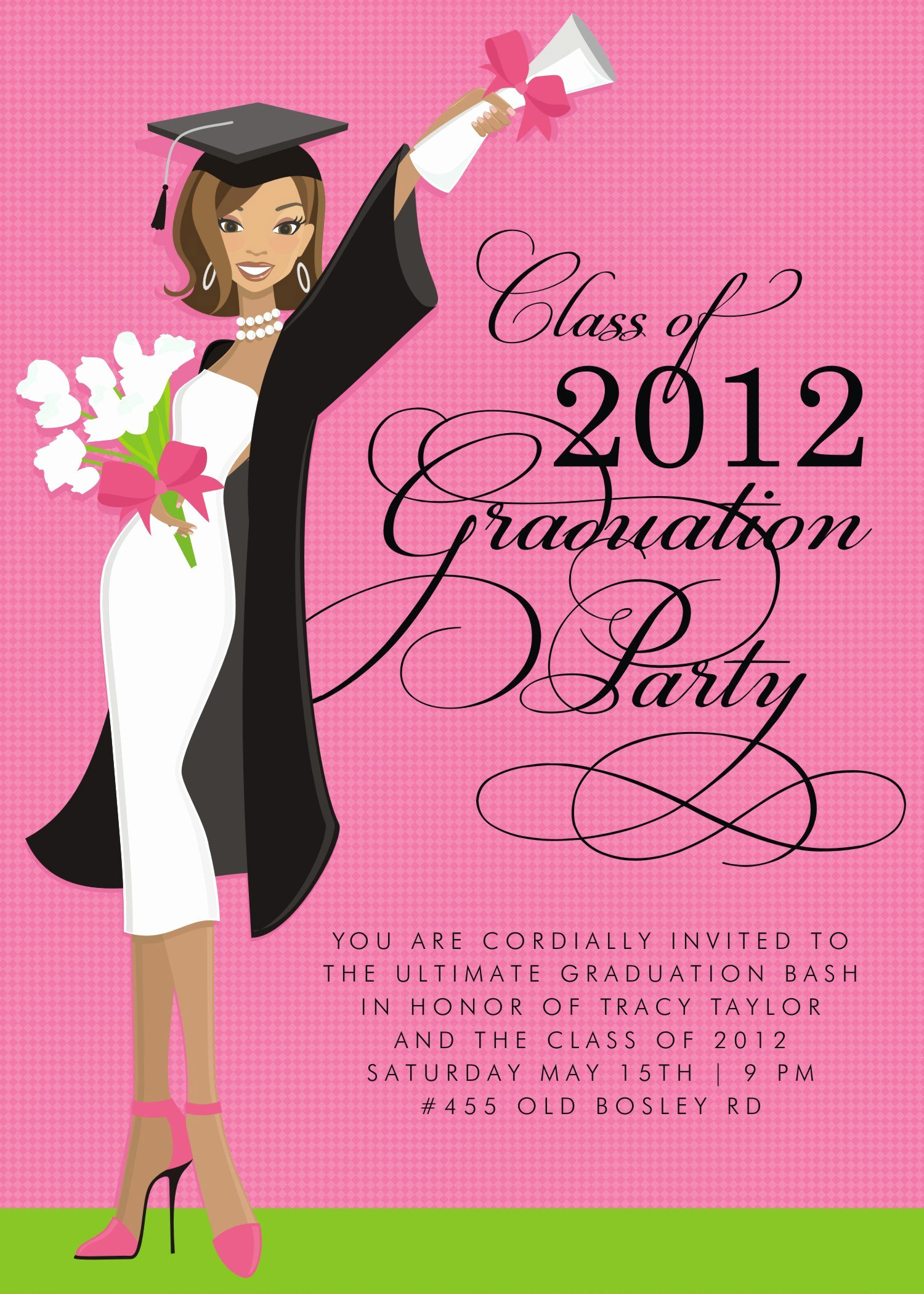 Free Graduation Announcements Templates Beautiful Free Graduation Invitation Templates Free Graduation