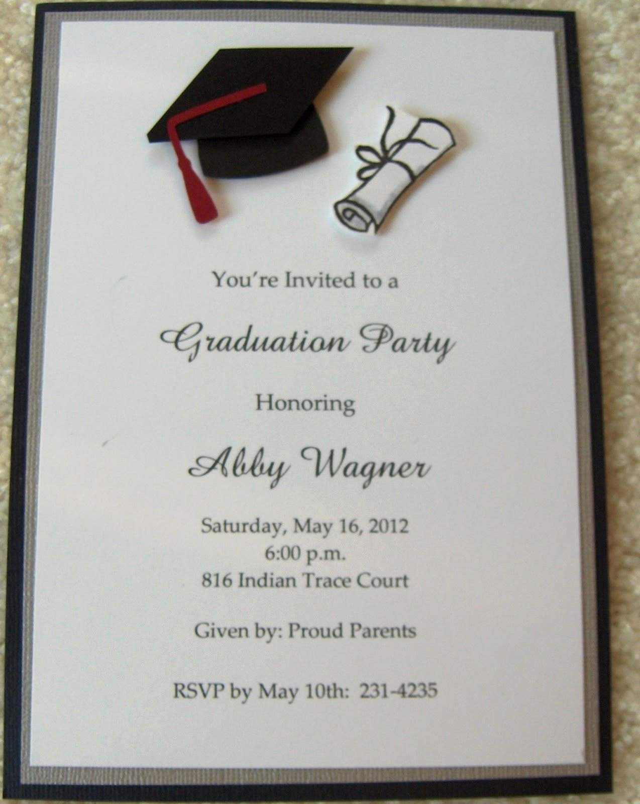 Free Graduation Announcements Templates Elegant Graduation Invitations Google Search