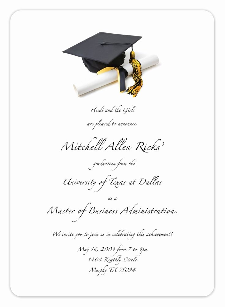 Free Graduation Announcements Templates Lovely Free Printable Graduation Invitation Templates 2013 2017