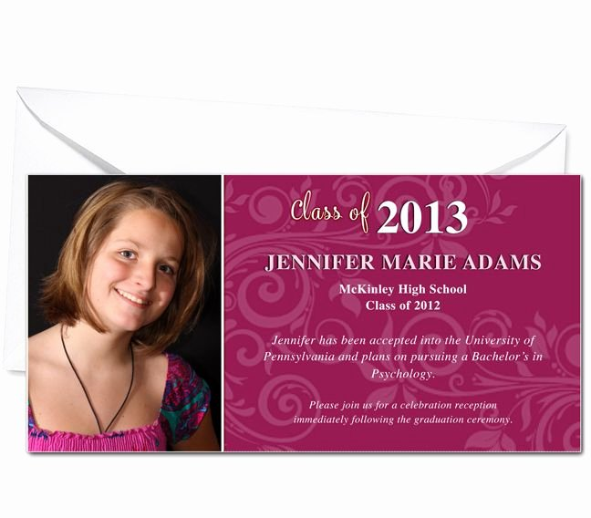 Free Graduation Announcements Templates Unique Graduation Announcements Printable Diy Graduation