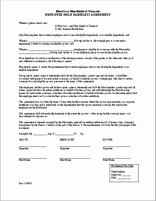 Free Hold Harmless Agreement Template Luxury 43 Free Hold Harmless Agreement Templates Ms Word and Pdfs