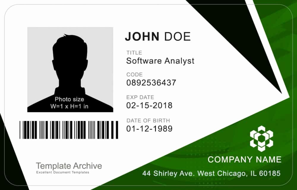 Free Id Card Template Best Of 16 Id Badge & Id Card Templates Free Template Archive
