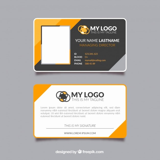 Free Id Card Template Best Of Id Card Template Vector