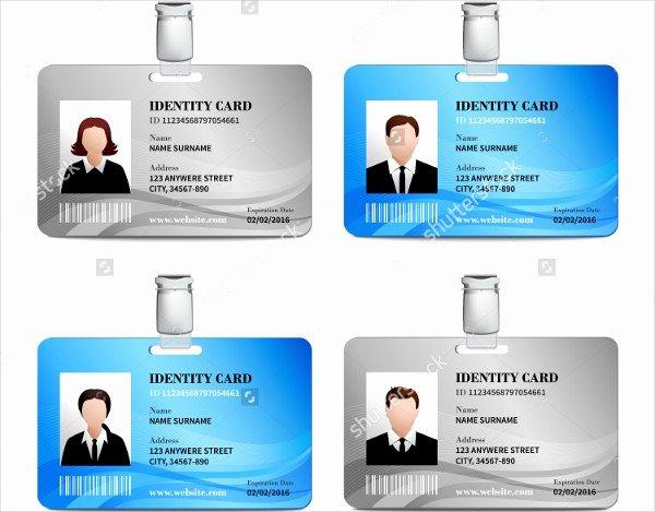 Free Id Card Template Fresh Id Card Template