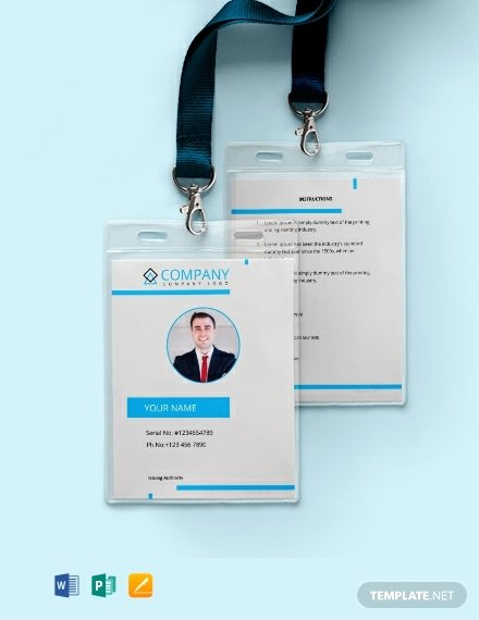 Free Id Card Templates Inspirational Free Modern Id Card Template Download 640 Cards In Psd