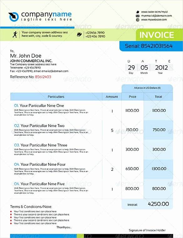 Free Indesign Invoice Template Awesome Indesign Invoice Template