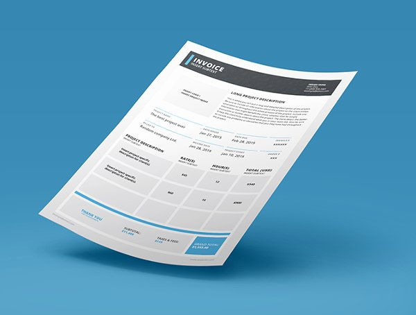 Free Indesign Invoice Template Beautiful 6 Indesign Invoice Templates Free Download