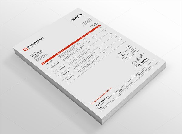 Free Indesign Invoice Template Unique 6 Indesign Invoice Templates Free Download