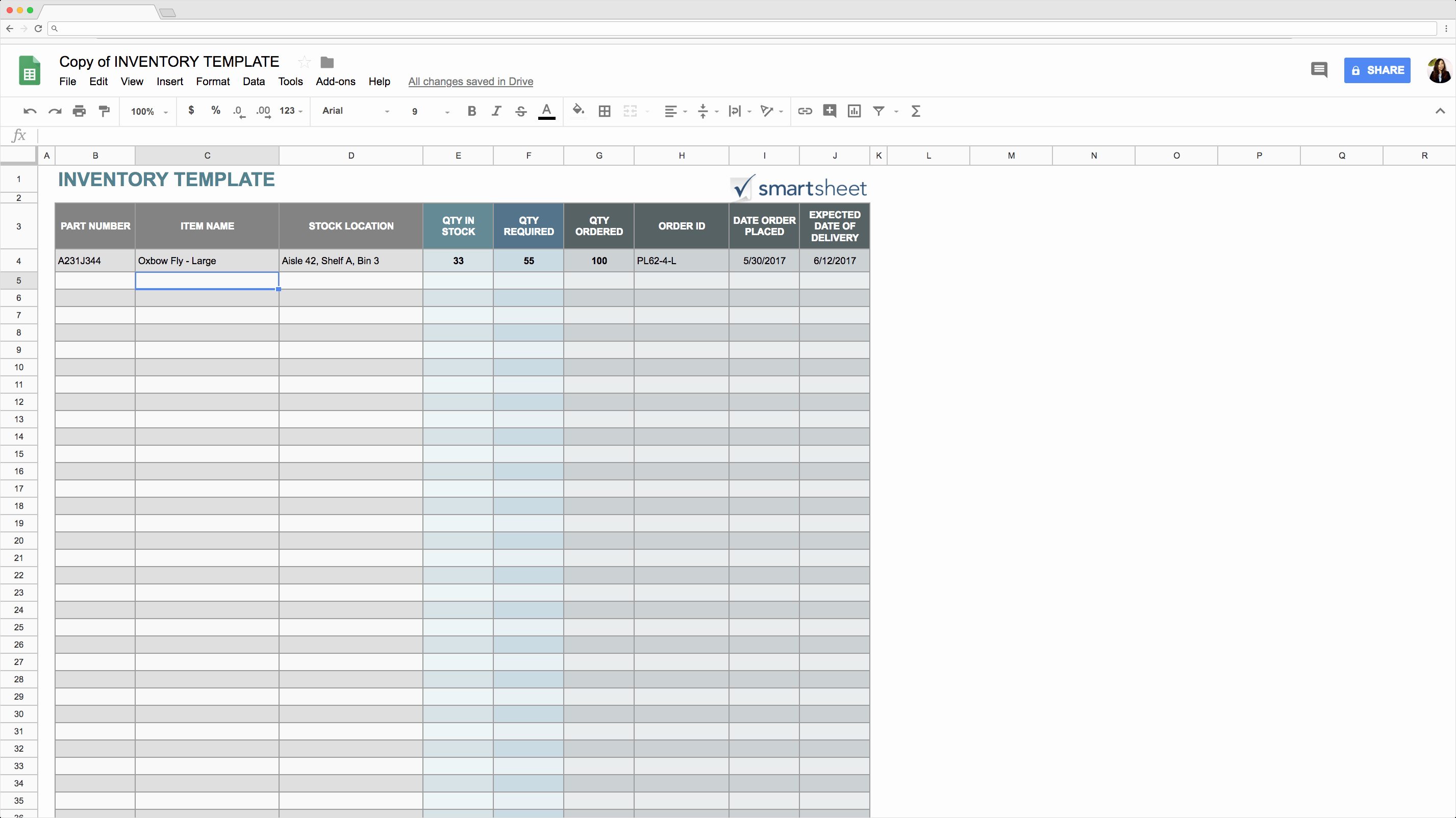 Free Inventory Spreadsheet Template Best Of top 5 Free Google Sheets Inventory Templates Blog Sheetgo
