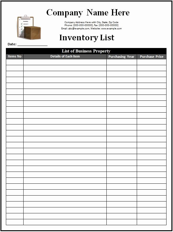 Free Inventory Spreadsheet Template Inspirational 3 Inventory Templates Spreadsheet Excel Excel Xlts