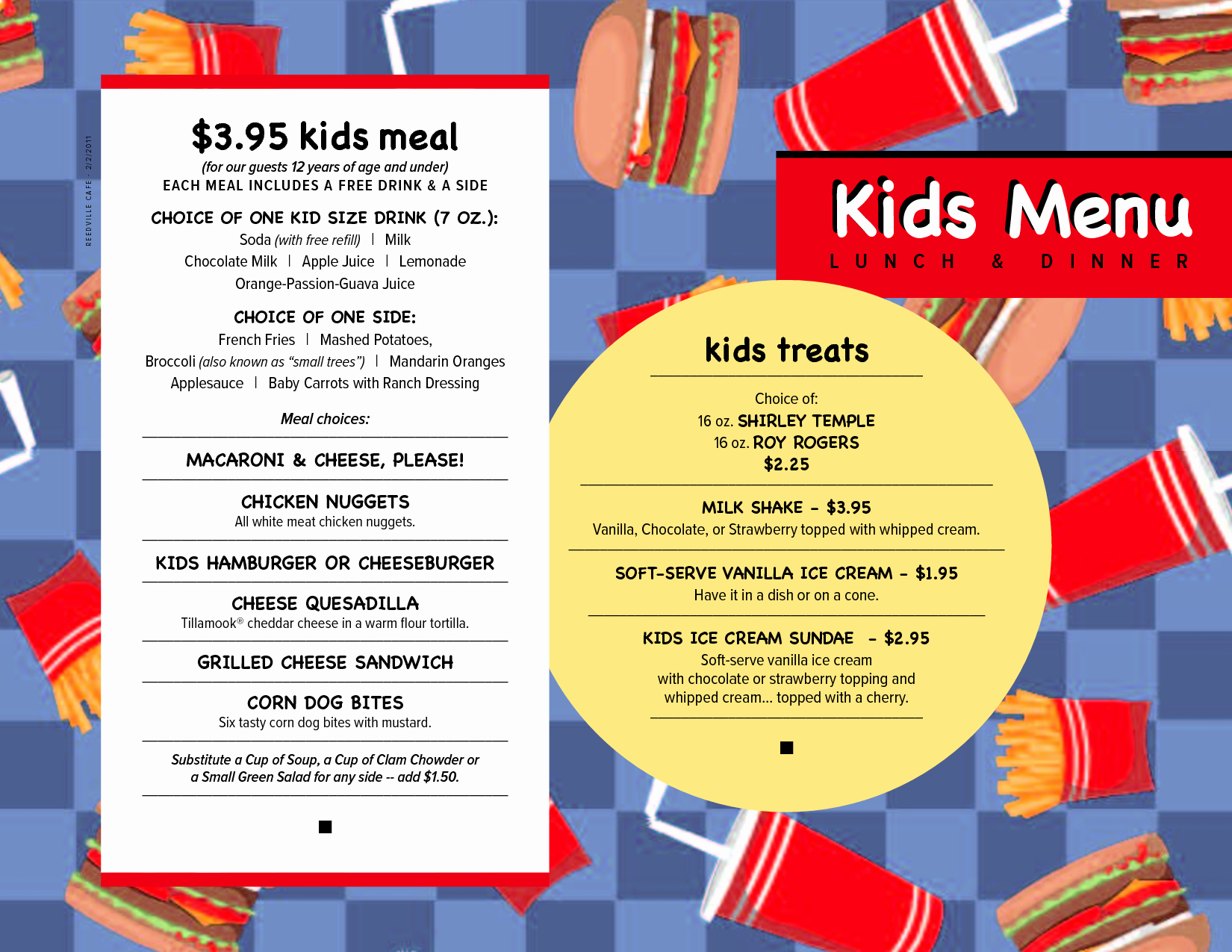 Free Kids Menu Template Lovely Free Menu Templates Kids Menu Kids Menu Menu