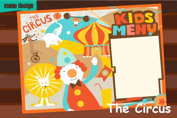 Free Kids Menu Template Lovely Kids Menu Templates – 26 Free Psd Eps Documents Download