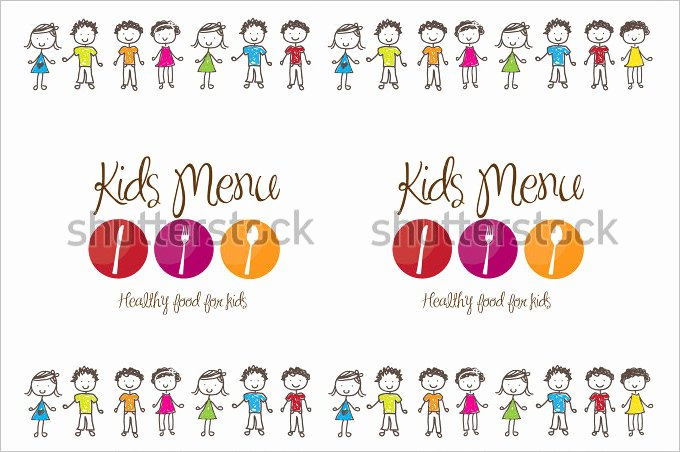 Free Kids Menu Template Luxury Kids Menu Templates – 26 Free Psd Eps Documents Download