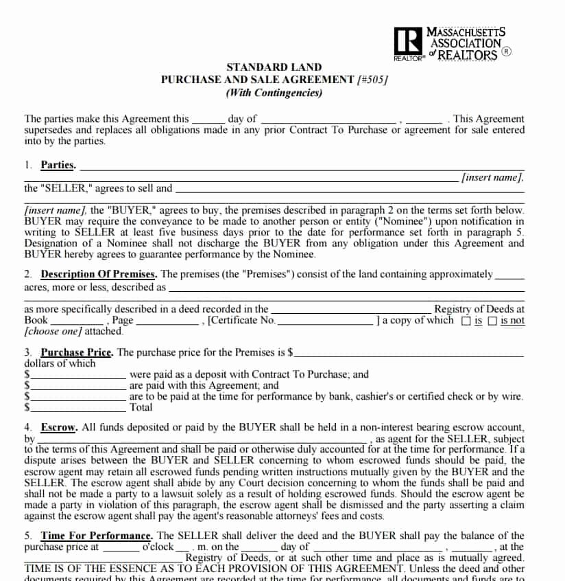 Free Land Contract Template Fresh Free Contract Templates Word Pdf Agreements