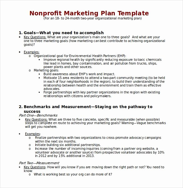 Free Marketing Plan Template Word Awesome 31 Microsoft Word Marketing Plan Templates