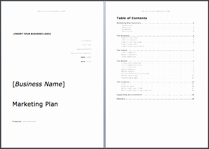 Free Marketing Plan Template Word Beautiful 7 Outline Template In Ms Word for Free Sampletemplatess