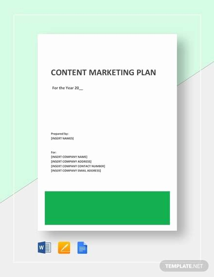 Free Marketing Plan Template Word Fresh Free 19 Sample Marketing Plan Templates In Google Docs