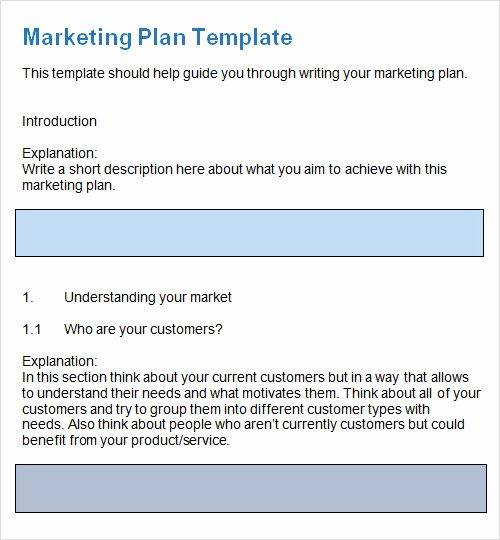 Free Marketing Plan Template Word New Sample Plan Template 26 Download Free Documents In Pdf