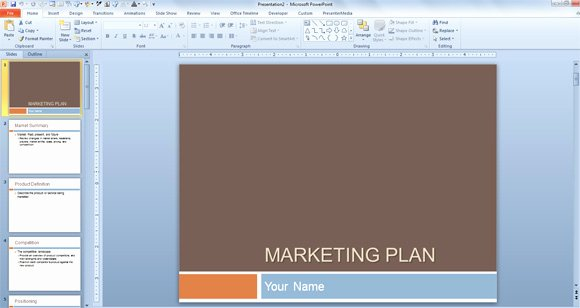 Free Marketing Proposal Template Lovely Free Marketing Plan Template for Powerpoint Presentations