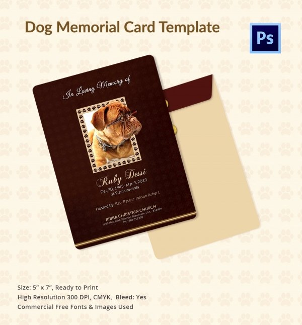 Free Memorial Cards Template Luxury 31 Funeral Program Templates – Free Word Pdf Psd