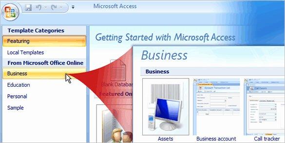 Free Microsoft Access Templates Beautiful 8 Free Access Database Templates