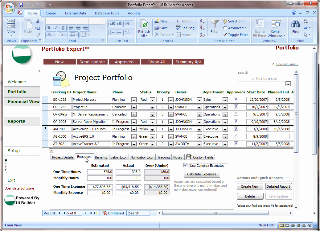 Free Microsoft Access Templates Best Of Microsoft Access Projects Template