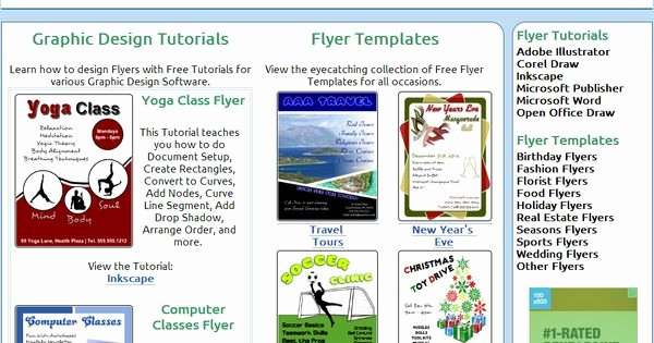 Free Microsoft Flyer Templates Beautiful Website that Teaches Flyer Creation with Corel Draw