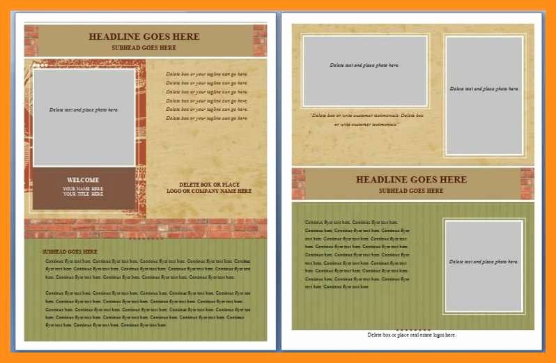 Free Microsoft Flyer Templates Lovely 12 13 Microsoft Word Handout Templates
